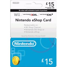 Nintendo eShop Card  £15
