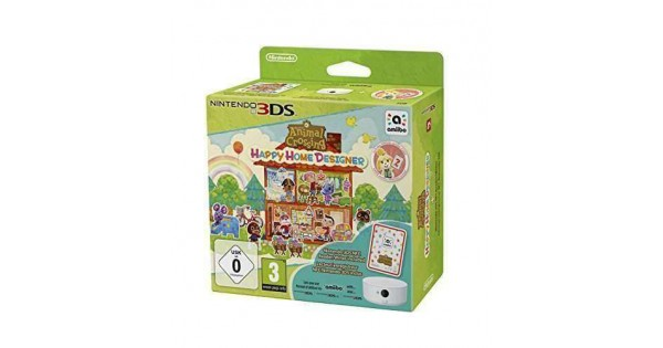 Animal Crossing Happy Home Designer Amiibo Card Nfc Reader Writer Nintendo 3ds