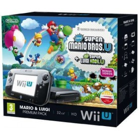 Nintendo Wii U 32GB New Super Mario Bros and New Super Luigi Bros Premium Pack