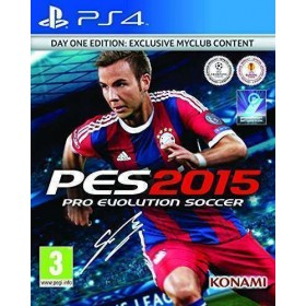 Pro-Evolution Soccer 2015 - Playstation 4