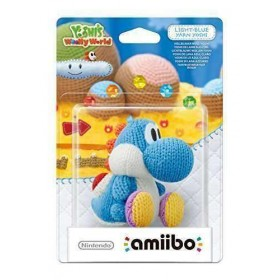 amiibo Light Blue Yarn Yoshi (Nintendo Wii U/3DS)