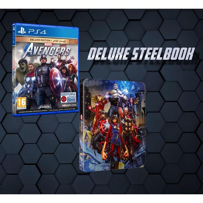 Marvel s Avengers - Deluxe - Steelbook (PS4)