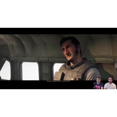 first impression playing A Wayout on PS4 أول انطباع لينا للعبة واي أوت على