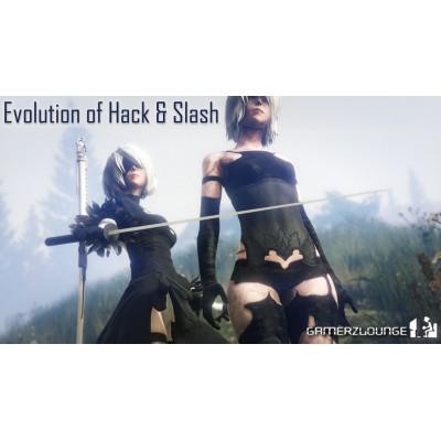 Evolution of Hack and Slash Games - تطور العاب الاكشيون على مدار التاريخ