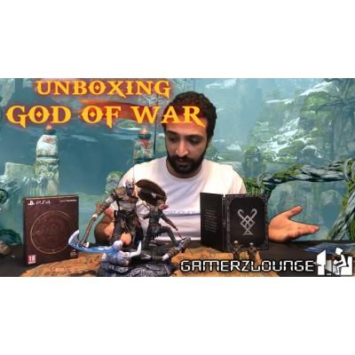 Unboxing God Of War Collector's Edition PS4 - محتويات جود أوف وار جميع النسخ على جهاز البلايستشيون 4