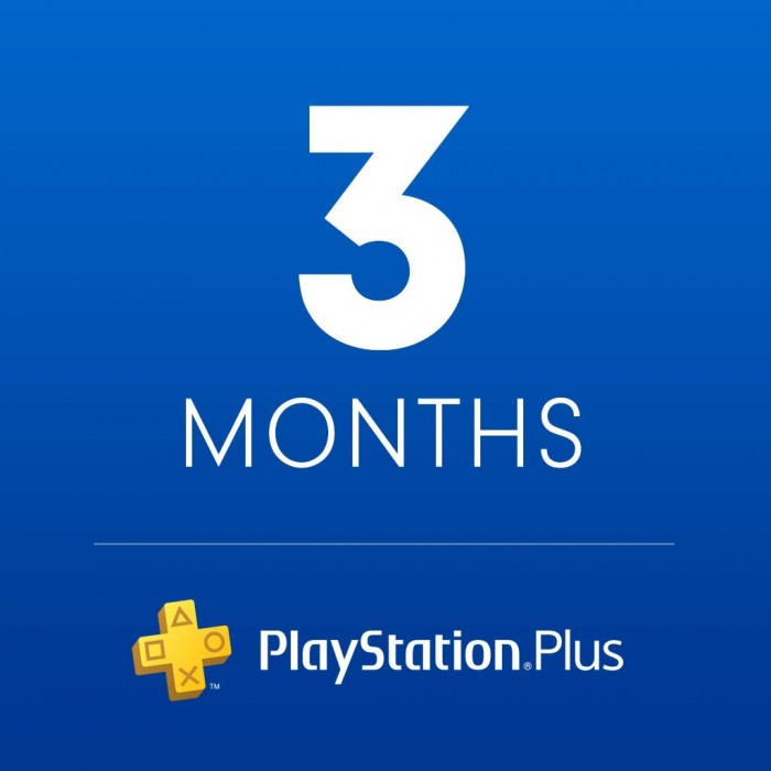 PlayStation Plus Card 3 month - US Store - PSN