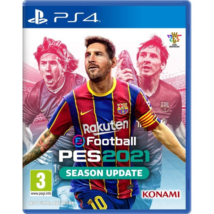 eFootball PES 2021 Season Update - English / Arabic  PlayStation 4