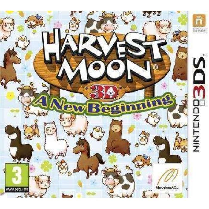 Harvest Moon : A New Beginning
