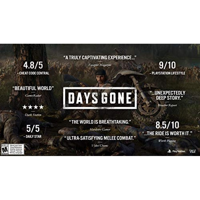 Days Gone - region all - US import - PS4