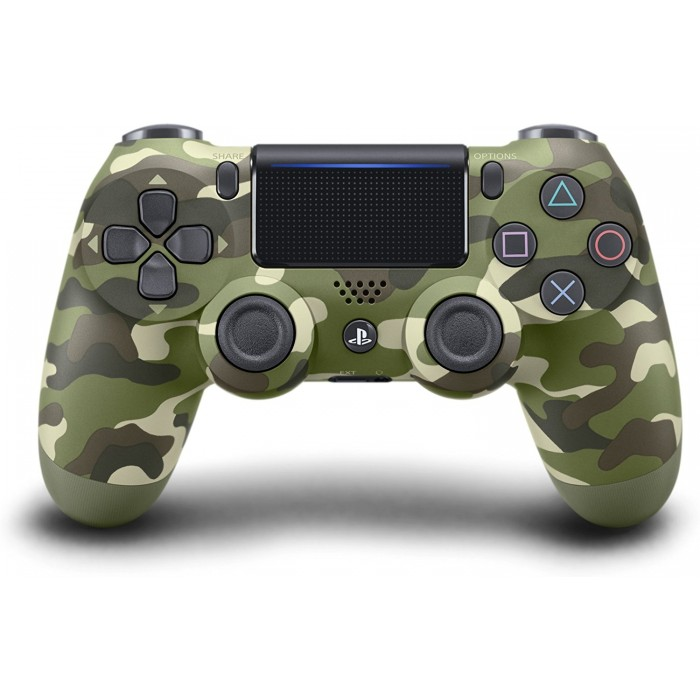 DualShock 4 Wireless Controller for PlayStation 4 -  Green Camouflage - V2