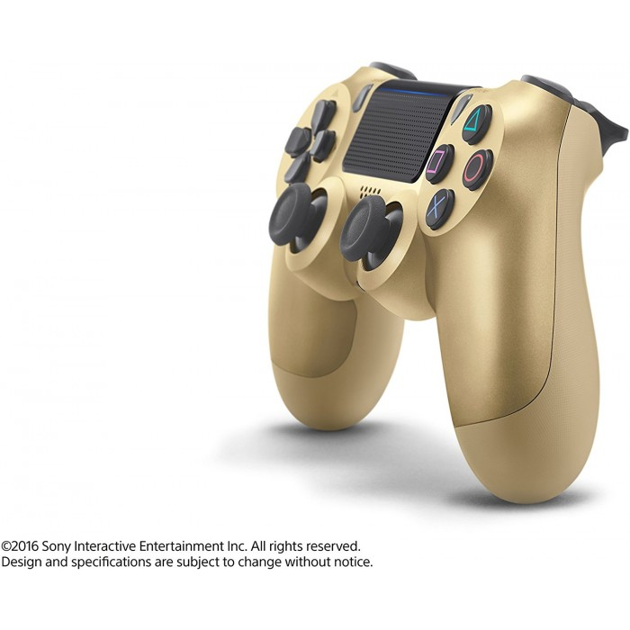 DualShock 4 Wireless Controller for PlayStation 4 - Gold - V2