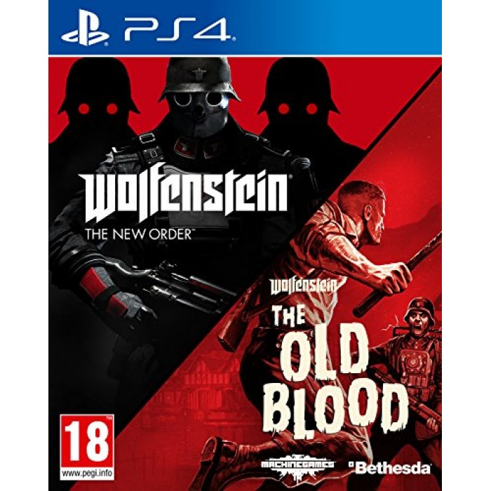 Wolfenstein The New Order and The Old Blood Double Pack (PS4)