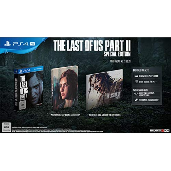 The Last of Us Part II  - Special Edition [PlayStation 4]