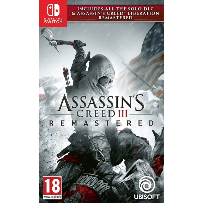 Assassin's Creed III Remastered + Assassin s Creed Liberation Remastered NSW (Nintendo Switch)