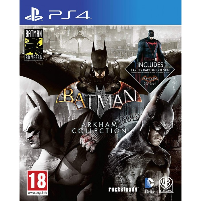 Batman Arkham Collection Steelbook Edition (PS4)