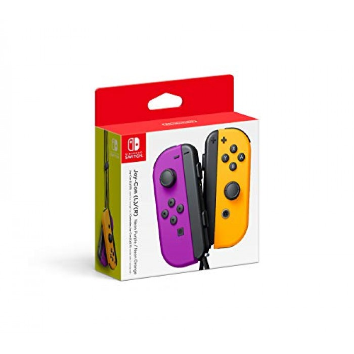 Nintendo Neon Purple/ Neon Orange Joy-Con (L-R) - Switch