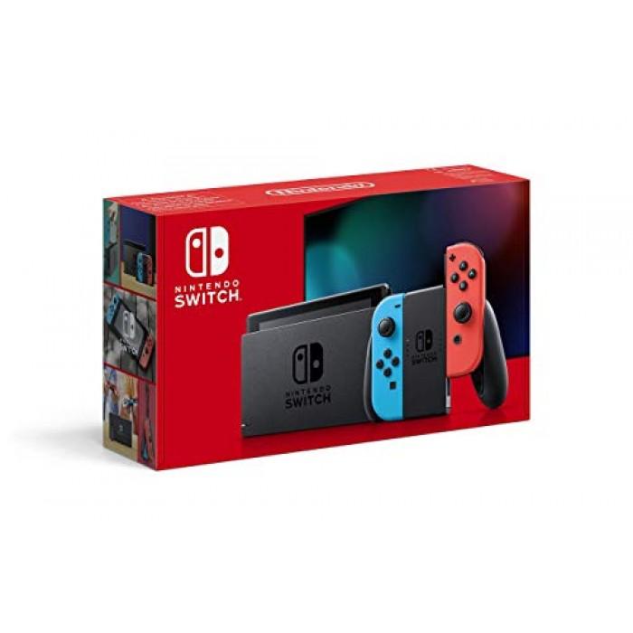 Nintendo Switch Bundle Neon Red/Neon Blue  Mario Kart 8 Deluxe