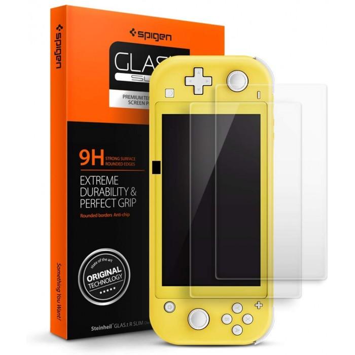 Spigen Tempered Glass Screen Protector designed for Nintendo Switch Lite (2019)
