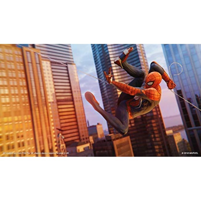Marvel s Spider-Man Arabic English Game Of The Year Edition (PS4)