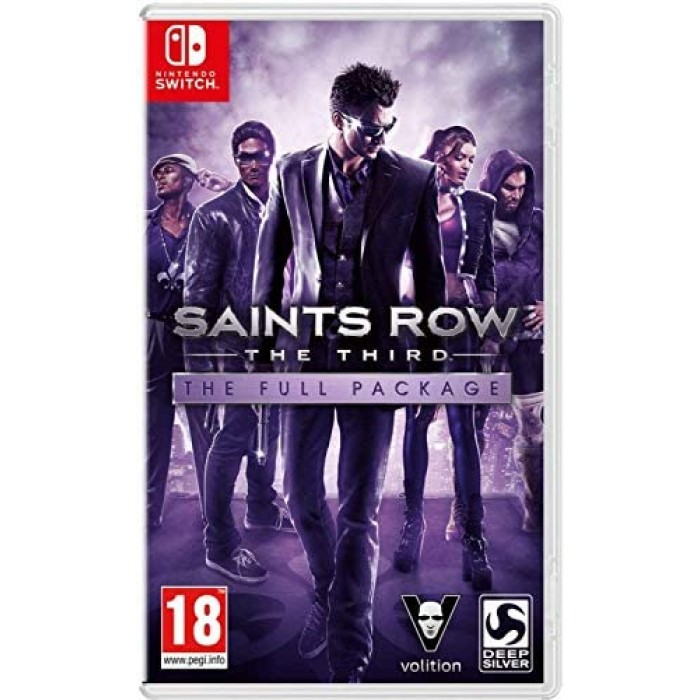 Saints Row The Third: The Full Package (Nintendo Switch)