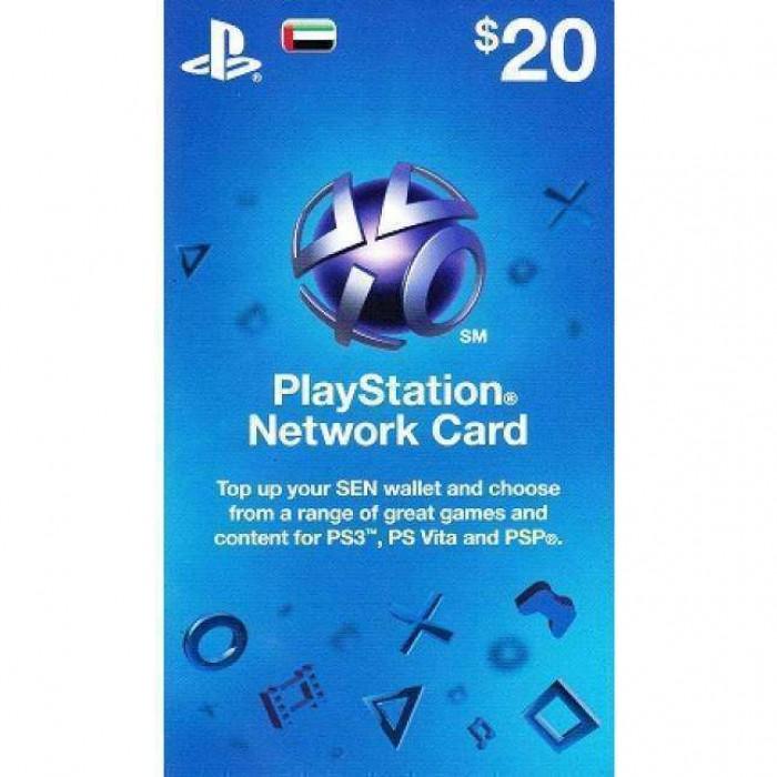 $20 UAE Store Playstation Network Card  - PSN