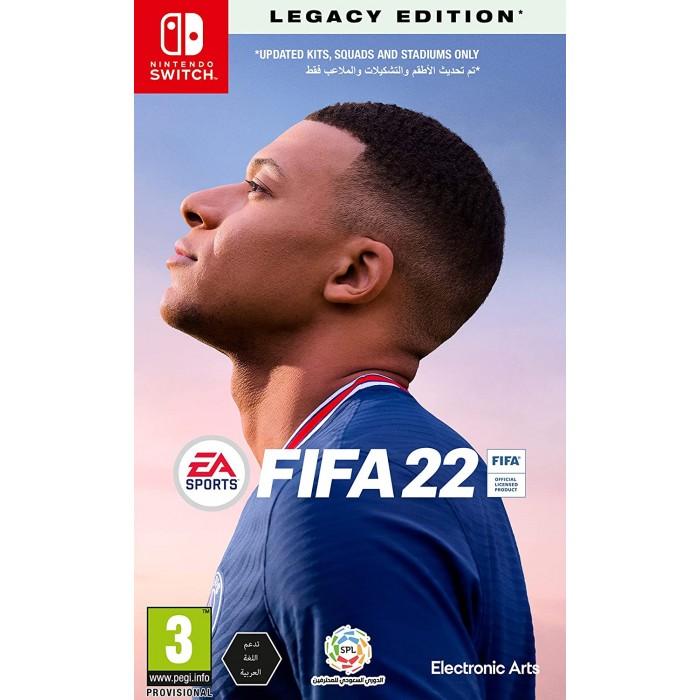 FIFA 22 Standard Edition = Nintendo Switch