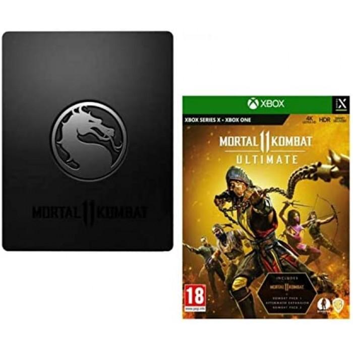 Mortal Kombat 11 Ultimate STEELBOOK Edition (Xbox One/Series X)