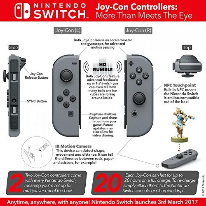 Nintendo Joy-Con (L/R) - Neon Pink / Neon Green
