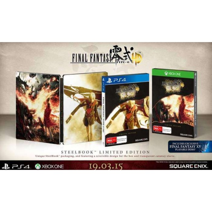 Final Fantasy Type-0 HD SteelBook Edition