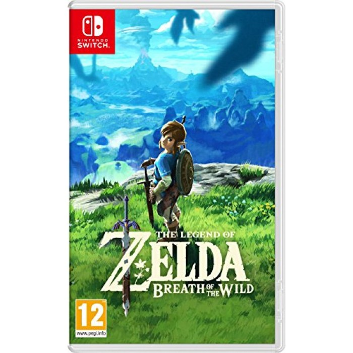 The Legend of Zelda: Breath of the Wild Expansion Pass DLC [Switch Download Code] - EU Accounts Only