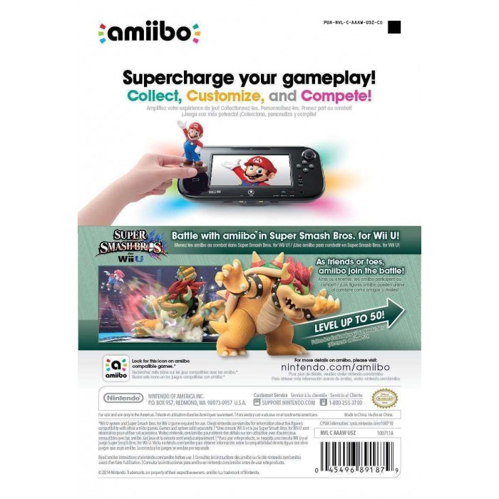 Bowser Amiibo