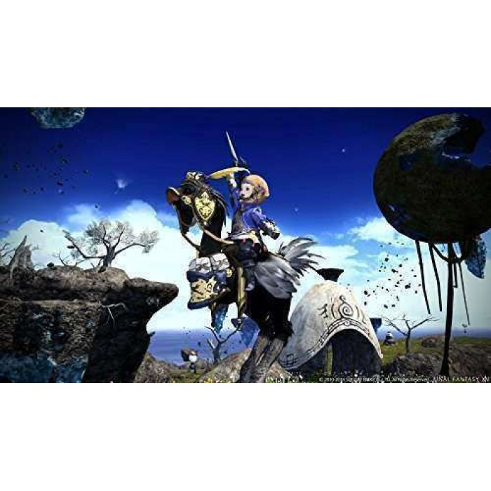FINAL FANTSAY XIV: A Realm Reborn and FINAL FANTASY XIV: Heavensward - PS4