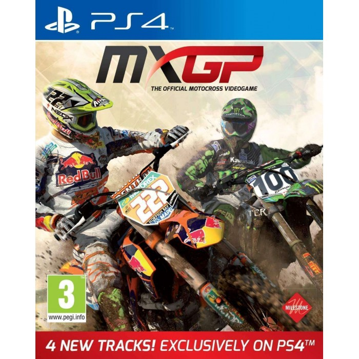MXGP - The Official Motocross Videogame (PS4)