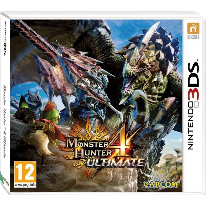 Monster Hunter 4 Ultimate (Nintendo 3DS)