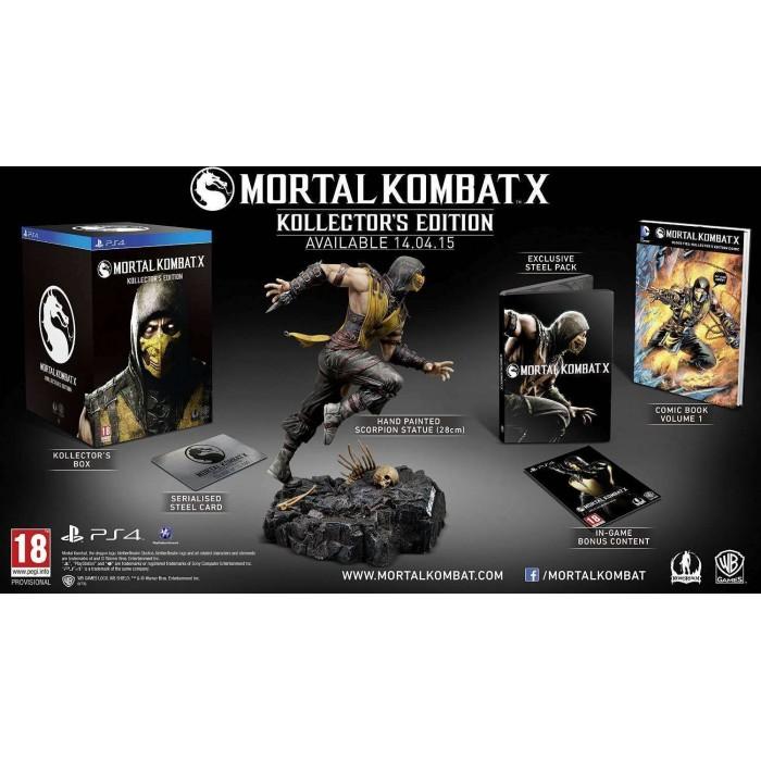 Mortal Kombat X kollector s edition - PS4