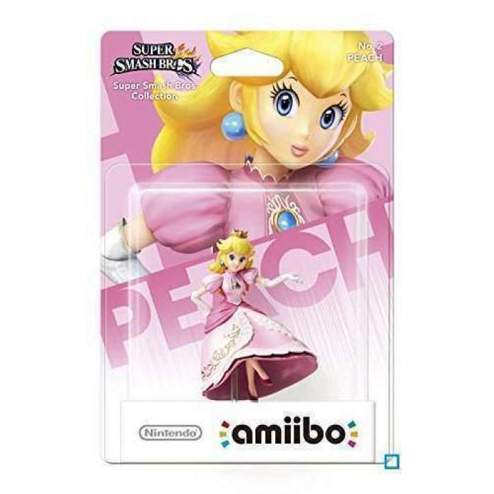 Super Smash Bros. Peach Amiibo