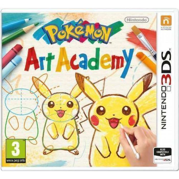 Pokémon Art Academy (Nintendo 3DS)