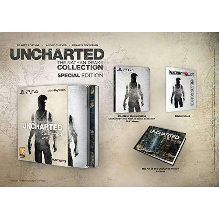 Uncharted: The Nathan Drake Collection- Special Edition