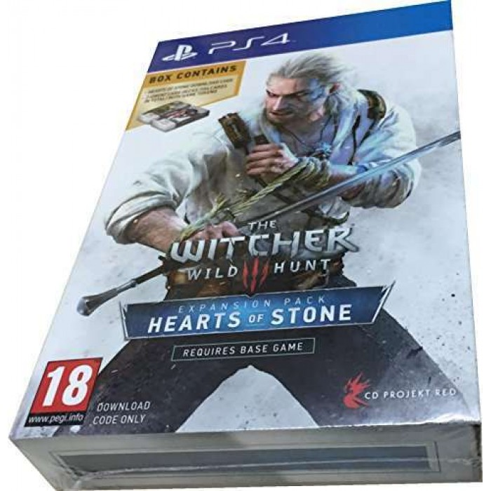 The WITCHER PS4 - Expansion Pack HEARTS OF STONE
