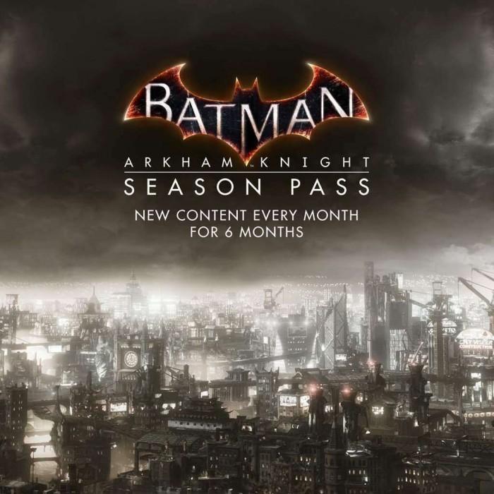 Batman Arkham Knight Season Pass PS4 PSN Code