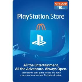 $10 US Store Playstation Network Card - PSN