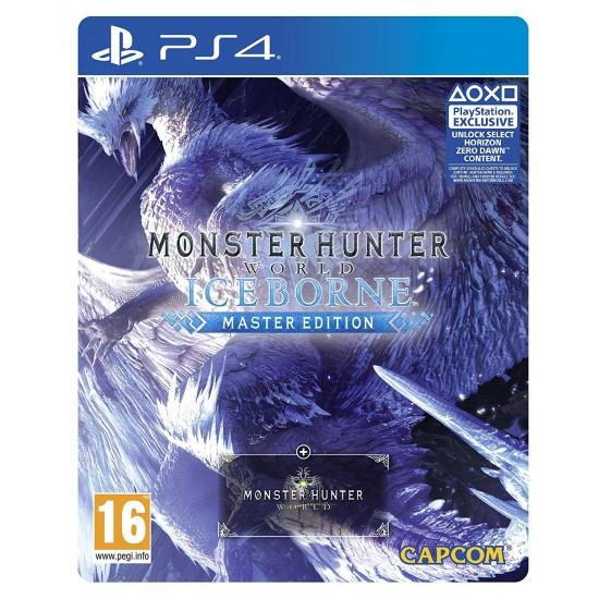 Monster Hunter World Iceborne Master Edition Steelbook (PS4)