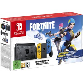 Nintendo Switch Console: Fortnite Special Edition - without fortnite pack