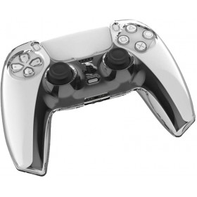 PS5 Hard Clear Controller Cover Skin Protector Compatible with Dualsense