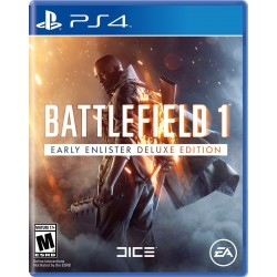 Battlefield 1 Early Enlister Deluxe Edition - Region all PlayStation 4