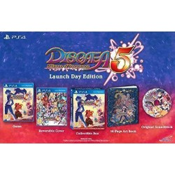 Disgaea 5: Alliance of Vengeance - Launch Day Edition (PS4)
