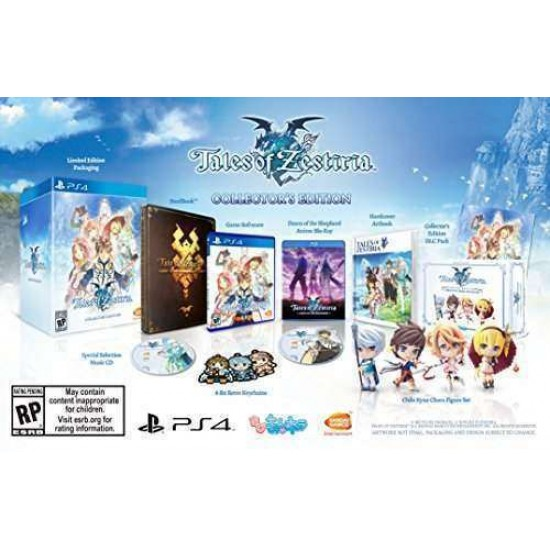 Tales of Zestiria: Collector's Edition - PlayStation 4